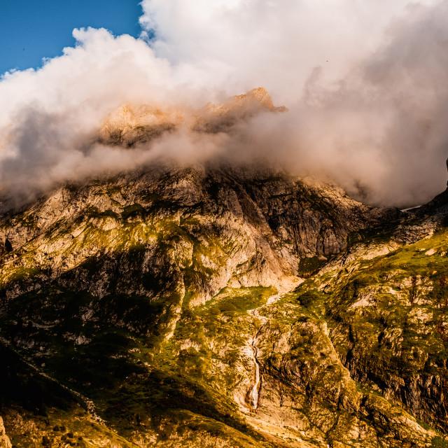 """Massif de la Vanoise, France"" stock image"