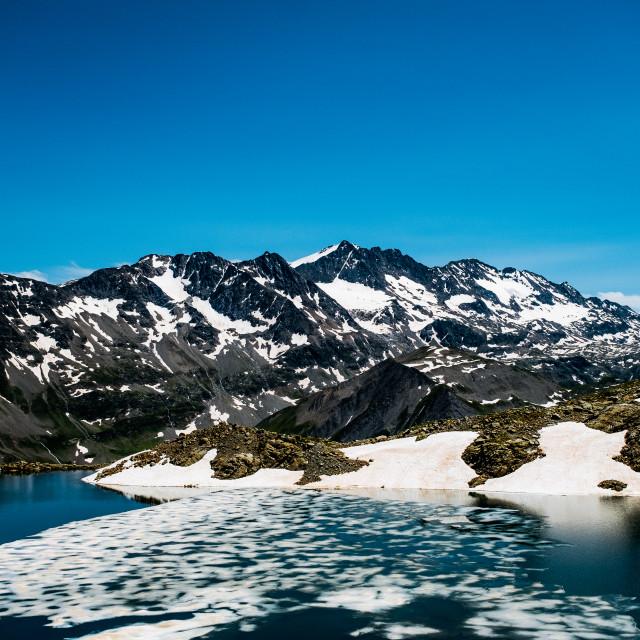 """""""Lac de l'Ane, France"""" stock image"""