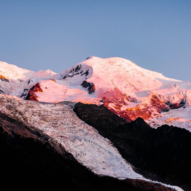 """Massif du Mont Blanc, France"" stock image"