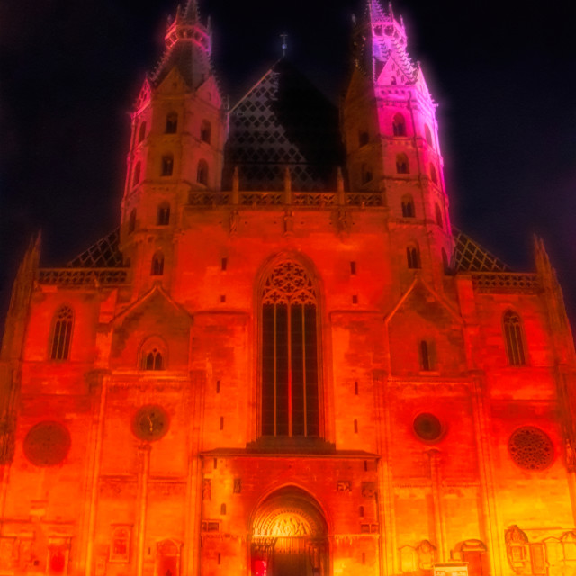 """""""Stephansdom Cathedral"""" stock image"""