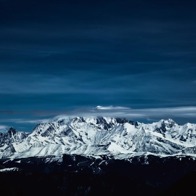 """Mont Blanc, France"" stock image"