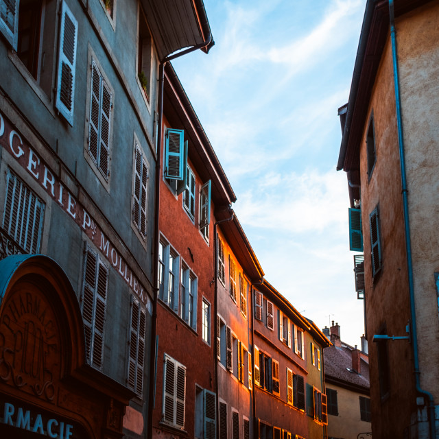 """""""Annecy, France"""" stock image"""