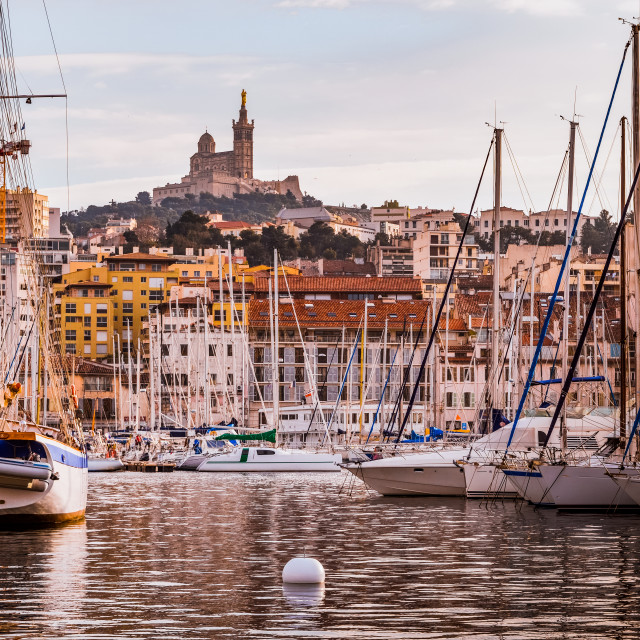 """Marseille, France"" stock image"