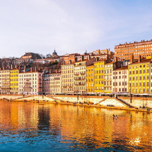 """Lyon, France"" stock image"