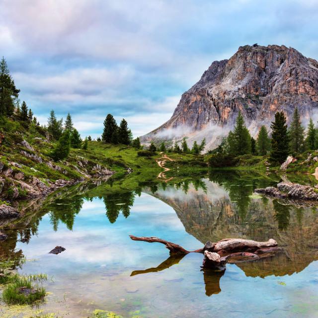 """Limides Lake"" stock image"