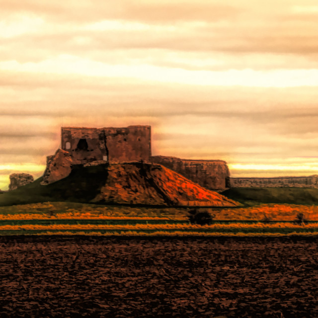 """""""Mighty Castle Of Moray"""" stock image"""