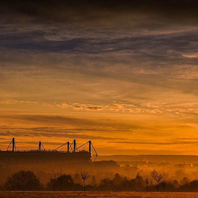 """""""Dortmund sunrise"""" stock image"""