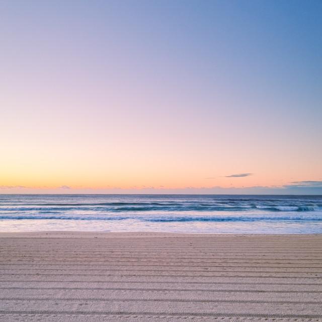 """""""Bondi Sunrise"""" stock image"""