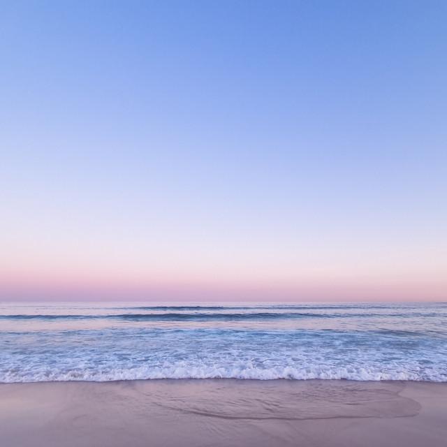 """""""Bondi Sunset"""" stock image"""