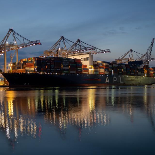 """Lion City Ship."" stock image"