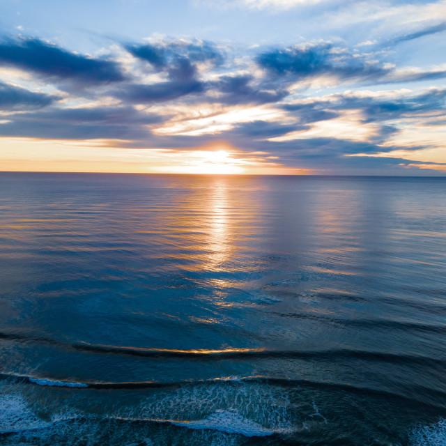 """""""Surfers Paradise - Sunrise"""" stock image"""