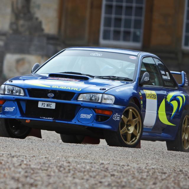 """Subaru WRC"" stock image"