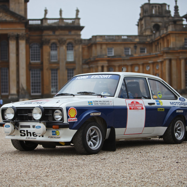 """""""Ford Escort MKII"""" stock image"""