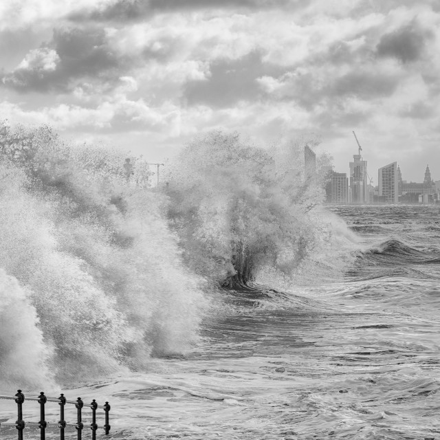 """Winter waves"" stock image"