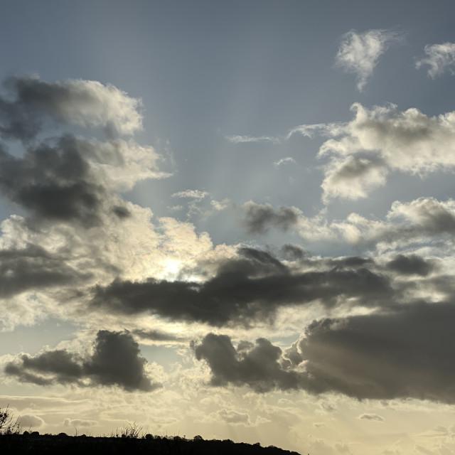 """Cloud Bustin'"" stock image"