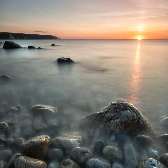 """""""Aberbach Sunset"""" stock image"""