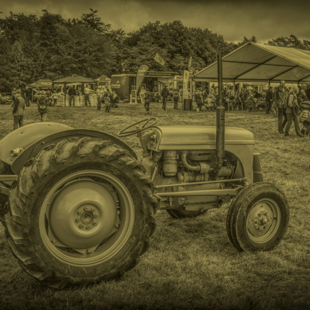 """""""Old Tractor"""" stock image"""