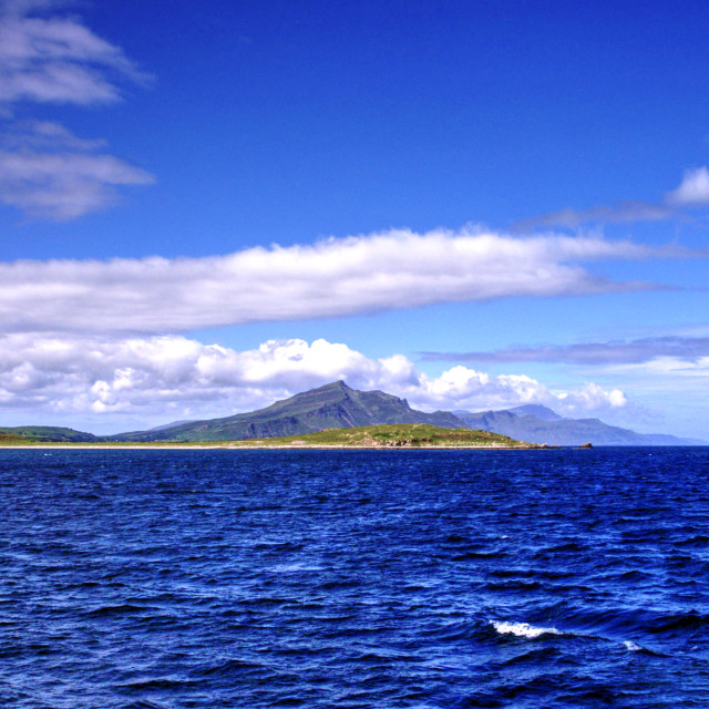 """""""Sound Of Raasay"""" stock image"""
