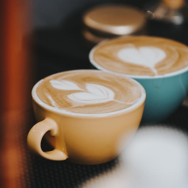 """Espresso ?"" stock image"
