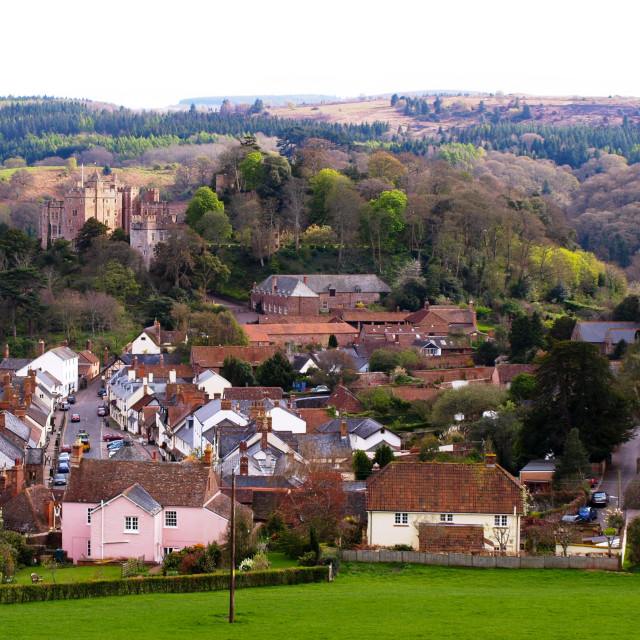 """""""Dunster"""" stock image"""