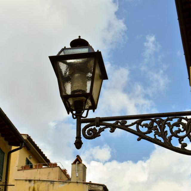 """""""Ornate Lamp"""" stock image"""