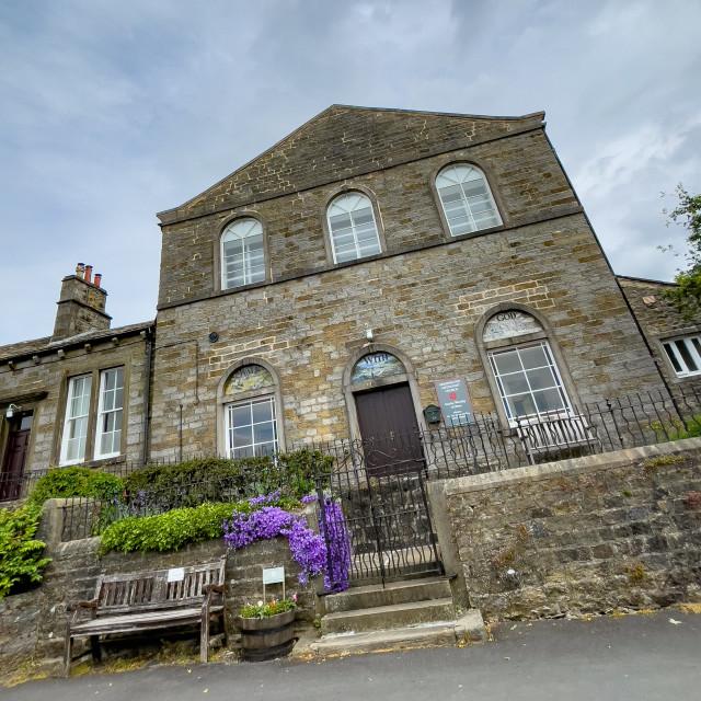 """Grassington Methodist Church, Yorkshire Dales."" stock image"