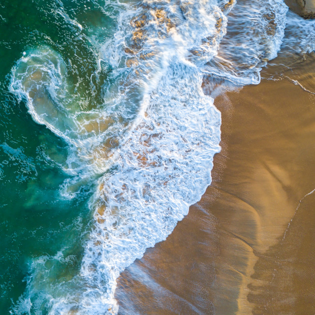 """""""Swirls From Above"""" stock image"""
