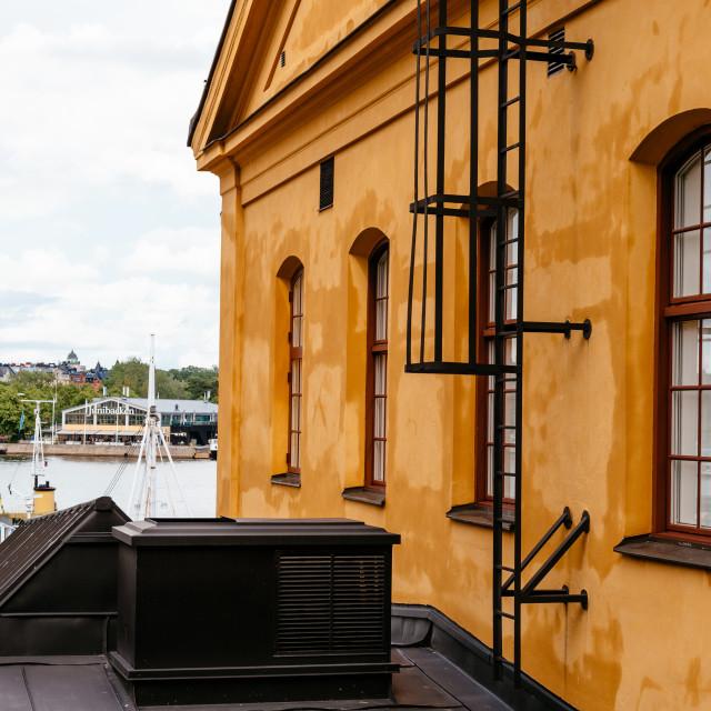 """""""Junibacken Museum in Stockholm in Sweden"""" stock image"""