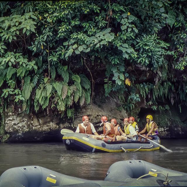 """Ayung River rafting 3"" stock image"