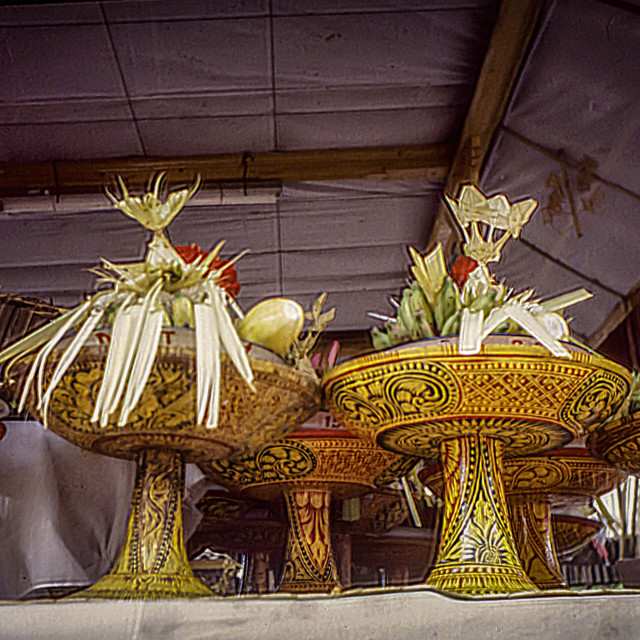 """""""Temple offerings"""" stock image"""