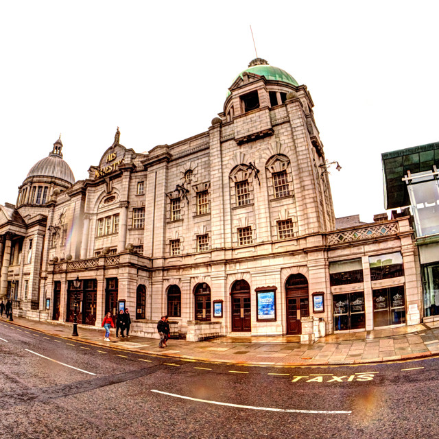 """""""Her Majestys Theatre"""" stock image"""
