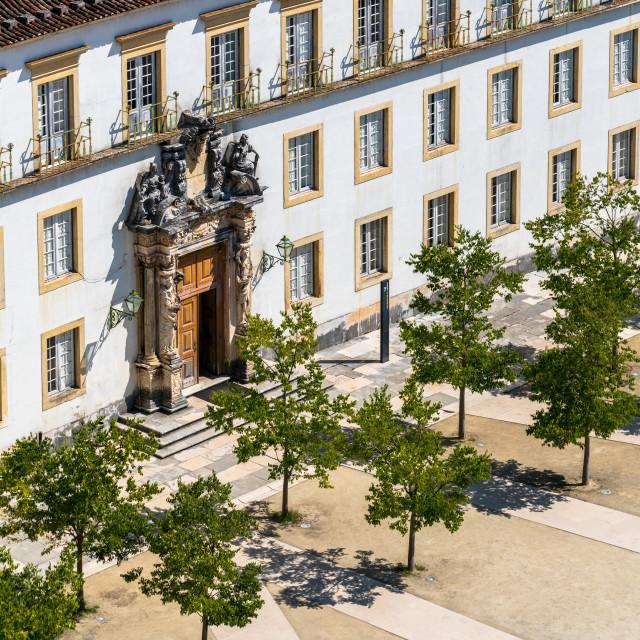 """Coimbra University"" stock image"