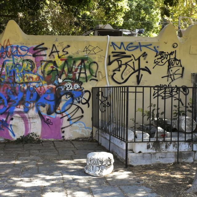 """Kos Graffiti"" stock image"