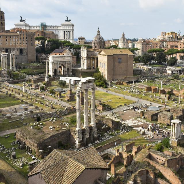 """Roman Pillars"" stock image"