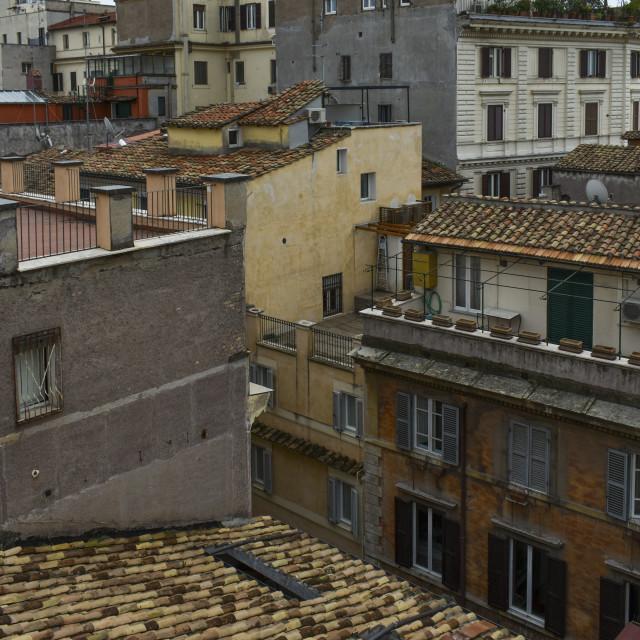 """Urban Rome"" stock image"