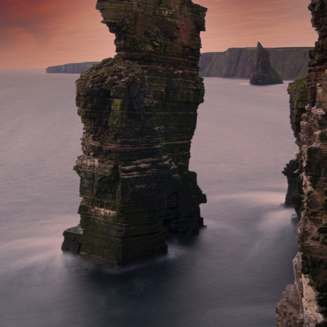 """""""Stacking Up ! Duncansby Head, Scottish Highlands"""" stock image"""