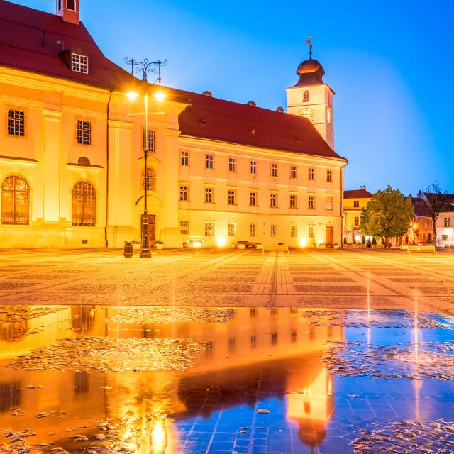 """""""Sibiu, Transylvania, Romania - Travel in Eastern Europe"""" stock image"""