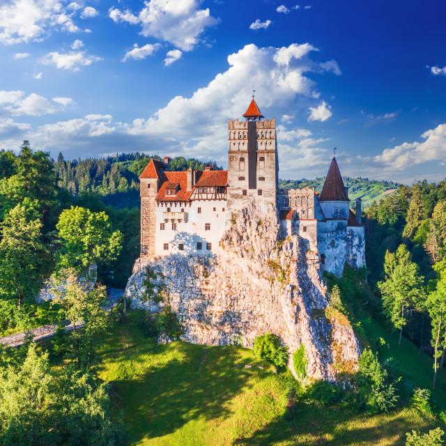 """Bran Castle, Transylvania - Most famous destination of Romania."" stock image"