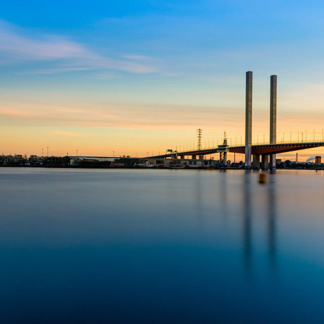 """""""Bolte Blue"""" stock image"""