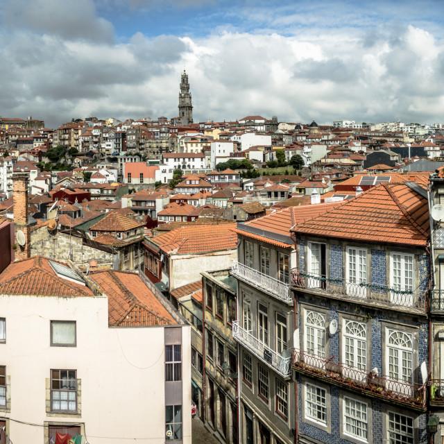 """""""Porto, cityscape, Portugal, Europe."""" stock image"""