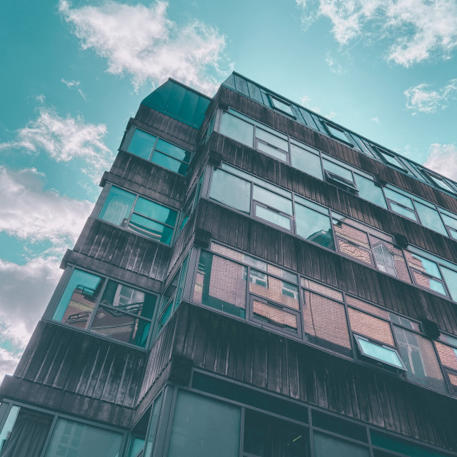 """""""High rise living"""" stock image"""