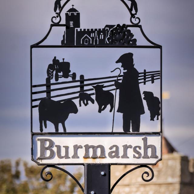 """Burmarsh"" stock image"