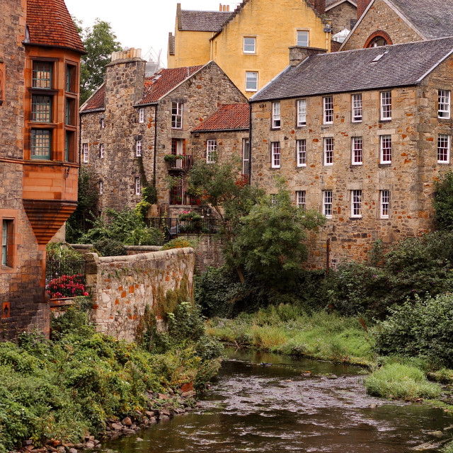 """Fairytale Of Edinburgh"" stock image"
