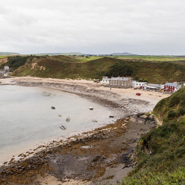 """Morfa Nefyn beach"" stock image"