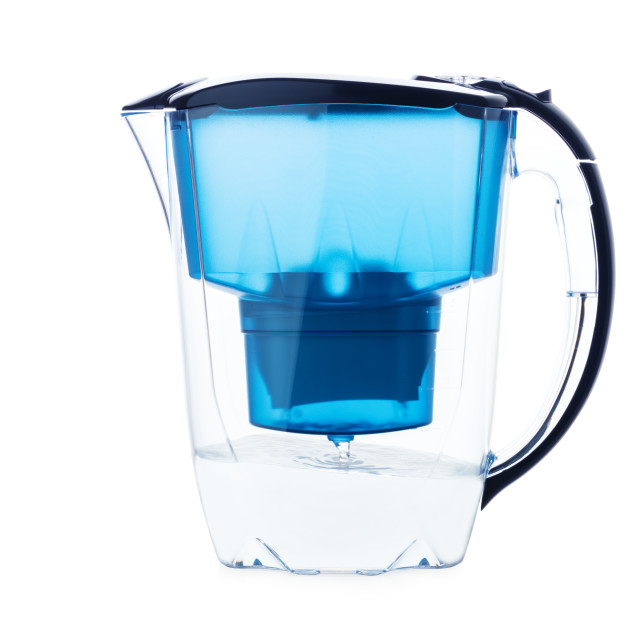 """""""Water jug isolated on white"""" stock image"""