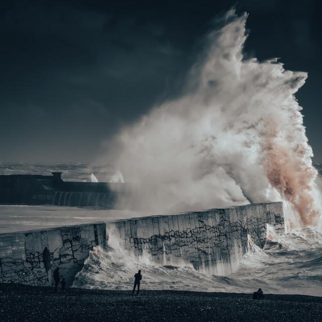 """""""Newhaven Apocalypse"""" stock image"""