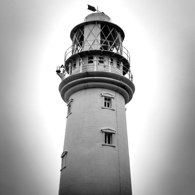 """Flamborough Head Lighthouse."" stock image"
