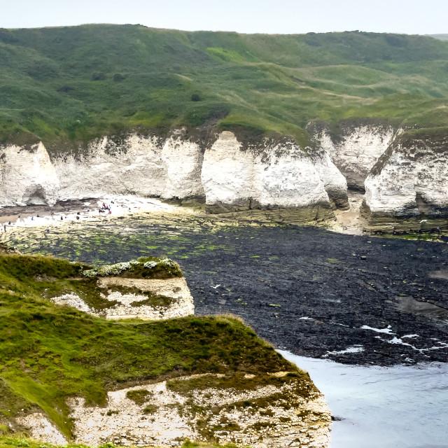 """Selwicks Bay, Flamborough."" stock image"