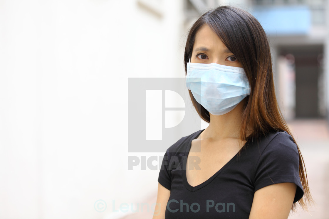 Mask License Asian Print Wear Download Woman - Or Face Protective