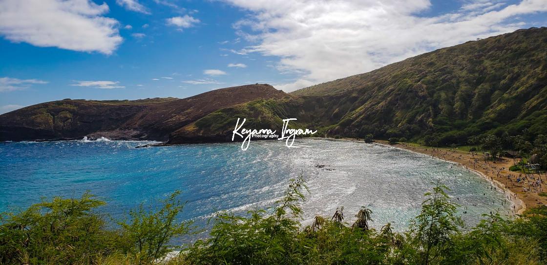 """""""Hanauma Bay Beach"""" stock image"""